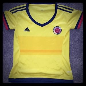 Adidas Colombian Soccer Shirt